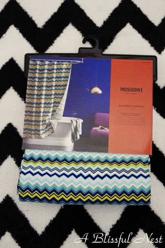 HD Wallpapers Missoni Shower Curtain
