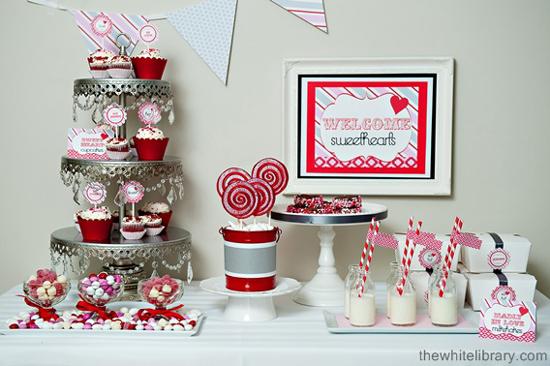Vintage Sweet Valentines Styled by Sandra Downie