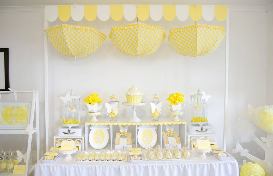 BN Black Book Of Parties Bright Yellow And White 12th Birthday Party A Blissful Nest
