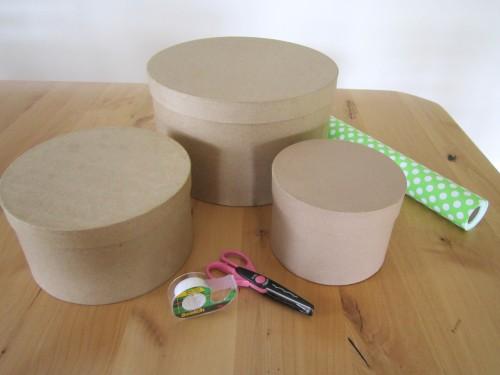 Diy Hat Box Cupcake Tower Tutorial A Blissful Nest