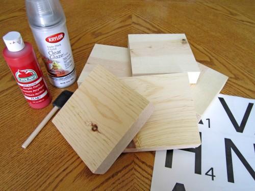 Diy Farmhouse Scrabble Tiles To Personalize Your Farmhouse