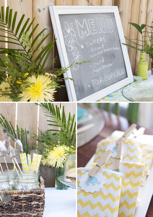 Boho Chic party decor