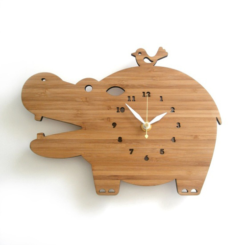Hippo Clock - A Blissful Nest
