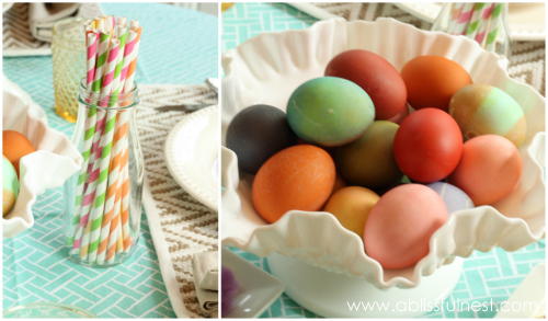 Spring Entertaining Tablescape - A Blissful Nest