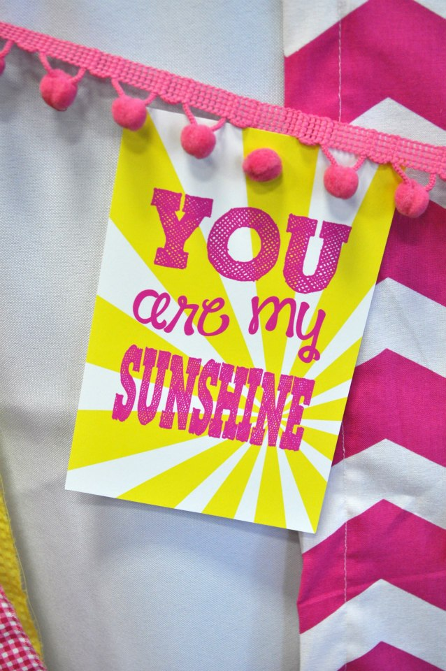 You are my Sunshine tag